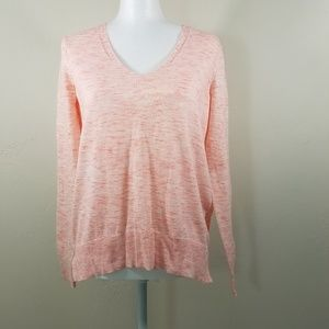 Gap Coral V-Neck Sweater Size XS